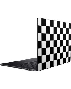 Black and White Checkered Ativ Book 9 (15.6in 2014) Skin