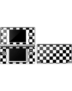 Black and White Checkered DS Lite Skin