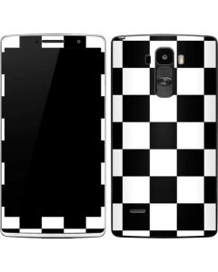 Black and White Checkered G Stylo Skin