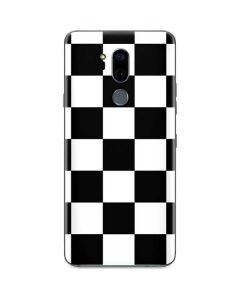 Black and White Checkered G7 ThinQ Skin