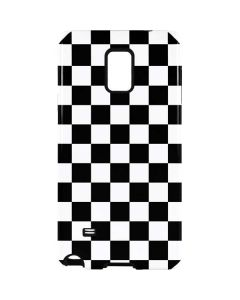Black and White Checkered Galaxy Note 4 Pro Case