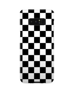 Black and White Checkered Galaxy Note 8 Lite Case