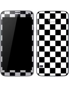 Black and White Checkered Galaxy S5 Skin