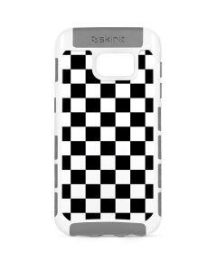 Black and White Checkered Galaxy S7 Cargo Case