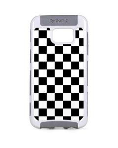 Black and White Checkered Galaxy S7 Edge Cargo Case