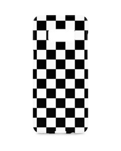 Black and White Checkered Galaxy S8 Plus Lite Case
