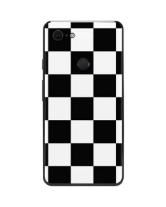 Black and White Checkered Google Pixel 3 XL Skin
