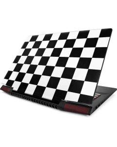 Black and White Checkered Lenovo Ideapad Skin
