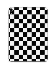 Black and White Checkered Apple iPad Pro Skin
