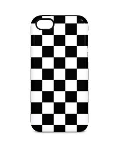 Black and White Checkered iPhone 5c Pro Case
