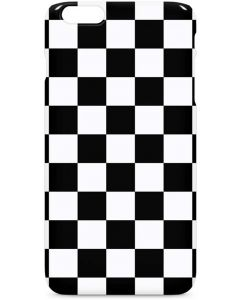 Black and White Checkered iPhone 6/6s Plus Lite Case