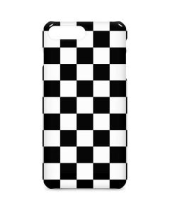 Black and White Checkered iPhone 7 Plus Lite Case