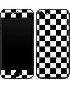 Black and White Checkered iPhone 7 Skin