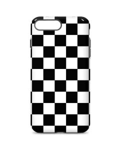 Black and White Checkered iPhone 8 Plus Pro Case