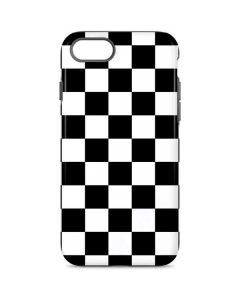 Black and White Checkered iPhone 8 Pro Case