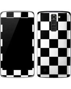 Black and White Checkered K7/Tribute 5 Skin