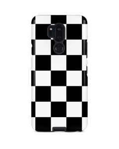 Black and White Checkered LG G7 ThinQ Pro Case