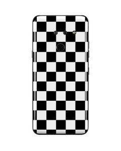Black and White Checkered LG G8 ThinQ Skin