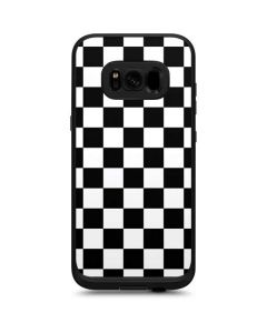 Black and White Checkered LifeProof Fre Galaxy Skin