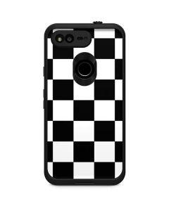 Black and White Checkered LifeProof Fre Google Skin