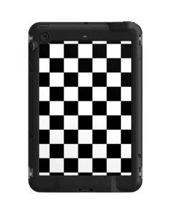 Black and White Checkered LifeProof Fre iPad Mini 3/2/1 Skin