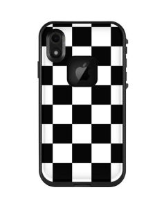 Black and White Checkered LifeProof Fre iPhone Skin