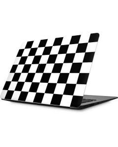 Black and White Checkered Apple MacBook Skin