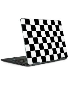 Black and White Checkered Notebook 9 Pro 13in (2017) Skin