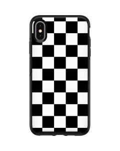 Black and White Checkered Otterbox Symmetry iPhone Skin