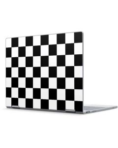Black and White Checkered Pixelbook Skin