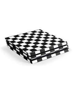 Black and White Checkered PS4 Pro Console Skin