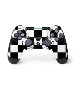Black and White Checkered PS4 Pro/Slim Controller Skin