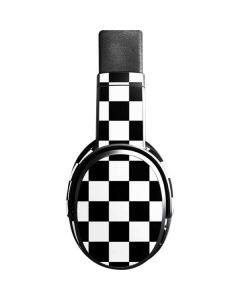 Black and White Checkered Skullcandy Crusher Wireless Skin