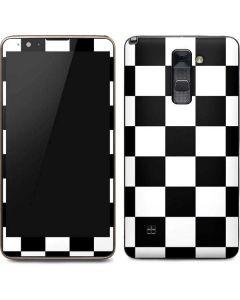 Black and White Checkered Stylo 2 Skin
