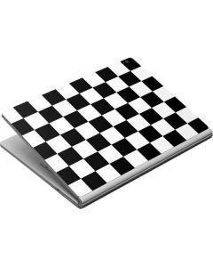 Black and White Checkered Surface Book Skin