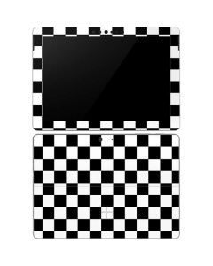 Black and White Checkered Surface Go Skin