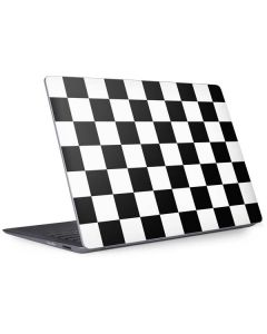 Black and White Checkered Surface Laptop 2 Skin