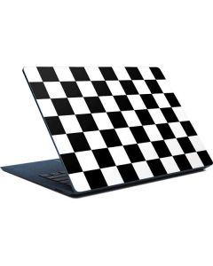 Black and White Checkered Surface Laptop Skin