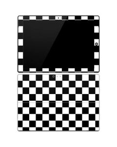 Black and White Checkered Surface Pro 3 Skin