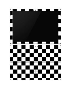 Black and White Checkered Surface Pro 6 Skin