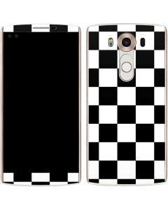 Black and White Checkered V10 Skin