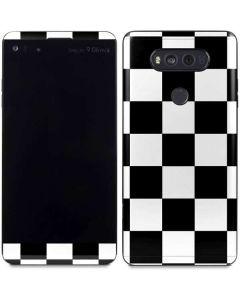 Black and White Checkered V20 Skin