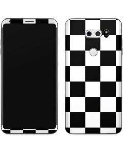 Black and White Checkered V30 Skin