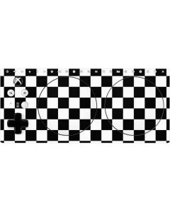 Black and White Checkered Xbox Adaptive Controller Skin
