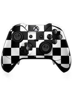Black and White Checkered Xbox One Elite Controller Skin
