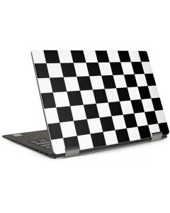 Black and White Checkered Dell XPS Skin