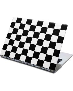 Black and White Checkered Yoga 910 2-in-1 14in Touch-Screen Skin