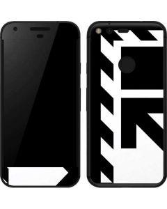 Black and White Geometric Shapes Google Pixel Skin