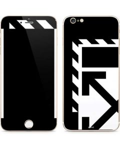 Black and White Geometric Shapes iPhone 6/6s Plus Skin