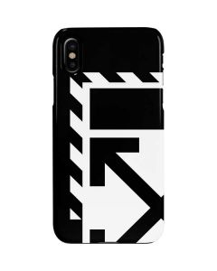Black and White Geometric Shapes iPhone XS Max Lite Case